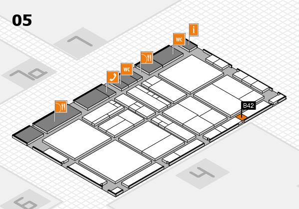 drupa 2016 hall map (Hall 5): stand B42