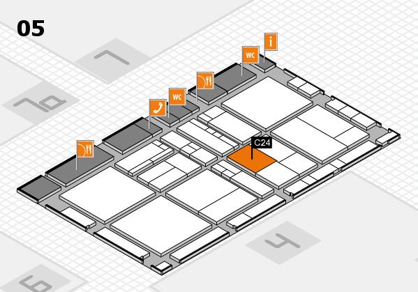 drupa 2016 Hallenplan (Halle 5): Stand C24