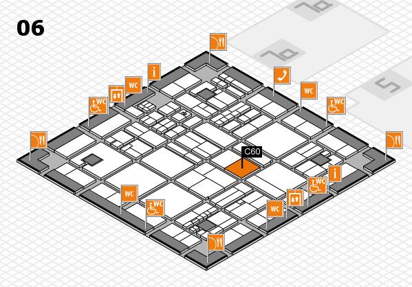 drupa 2016 hall map (Hall 6): stand C60