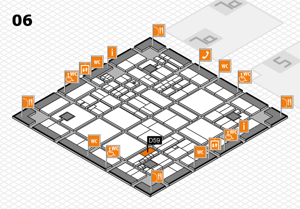 drupa 2016 hall map (Hall 6): stand D59