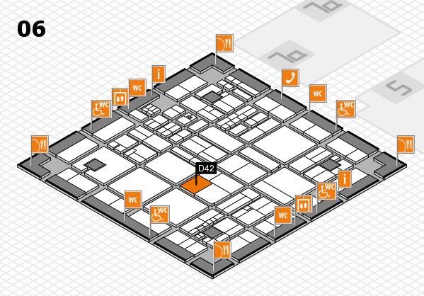 drupa 2016 hall map (Hall 6): stand D42