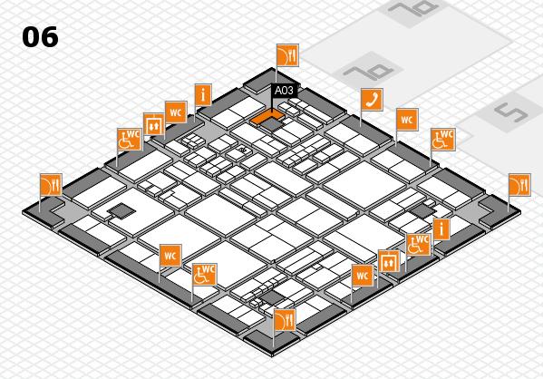 drupa 2016 hall map (Hall 6): stand A03