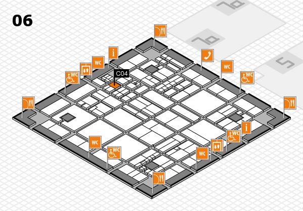 drupa 2016 hall map (Hall 6): stand C04
