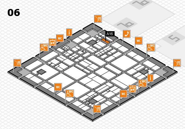 drupa 2016 hall map (Hall 6): stand A16