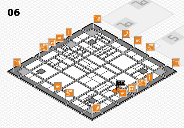 drupa 2016 hall map (Hall 6): stand C79