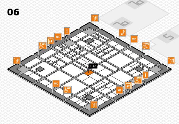 drupa 2016 hall map (Hall 6): stand C41