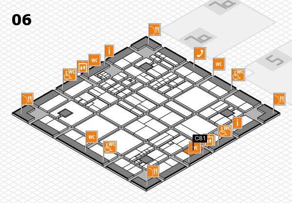 drupa 2016 hall map (Hall 6): stand C81