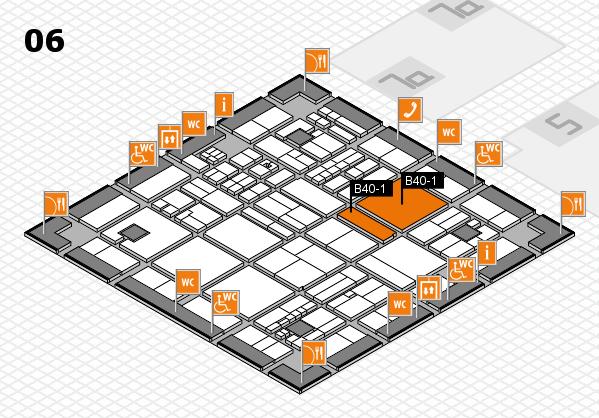 drupa 2016 Hallenplan (Halle 6): Stand B40-1, Stand B40-2