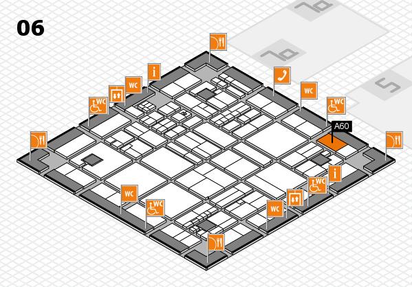drupa 2016 hall map (Hall 6): stand A60