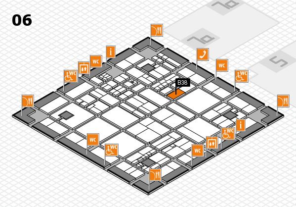 drupa 2016 hall map (Hall 6): stand B38