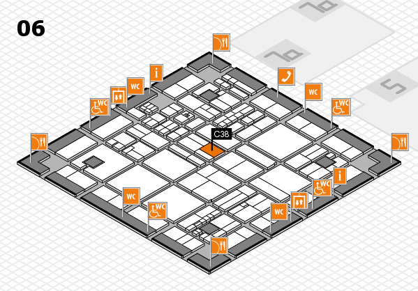 drupa 2016 hall map (Hall 6): stand C38