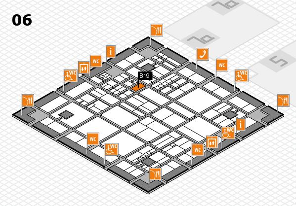 drupa 2016 hall map (Hall 6): stand B19