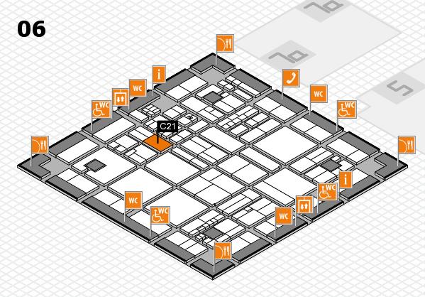 drupa 2016 hall map (Hall 6): stand C21
