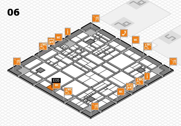 drupa 2016 hall map (Hall 6): stand E05