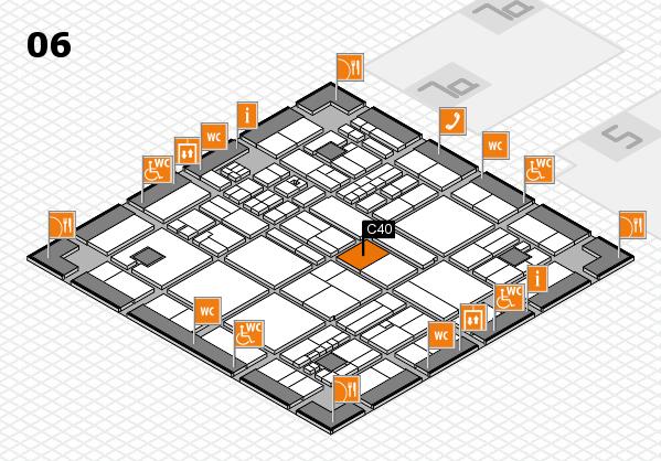 drupa 2016 hall map (Hall 6): stand C40
