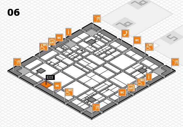 drupa 2016 hall map (Hall 6): stand E03