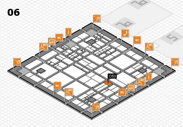drupa 2016 hall map (Hall 6): stand C63