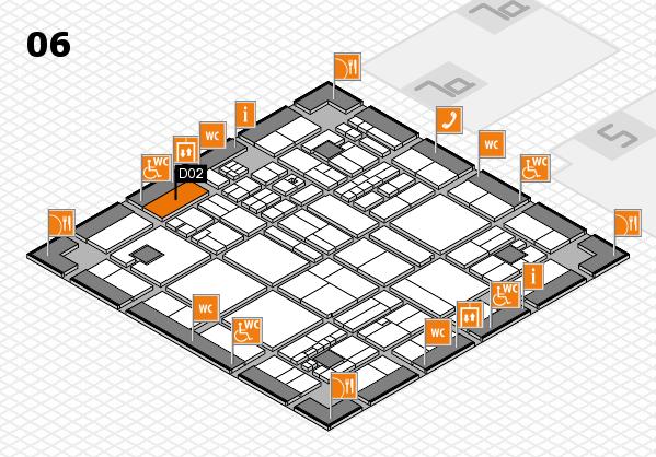 drupa 2016 hall map (Hall 6): stand D02
