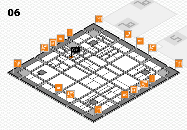 drupa 2016 hall map (Hall 6): stand C11