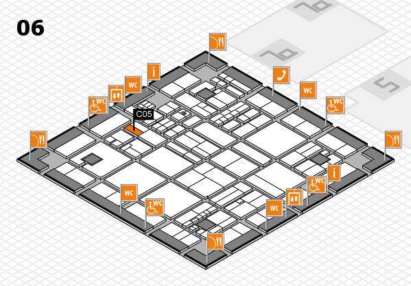 drupa 2016 hall map (Hall 6): stand C05