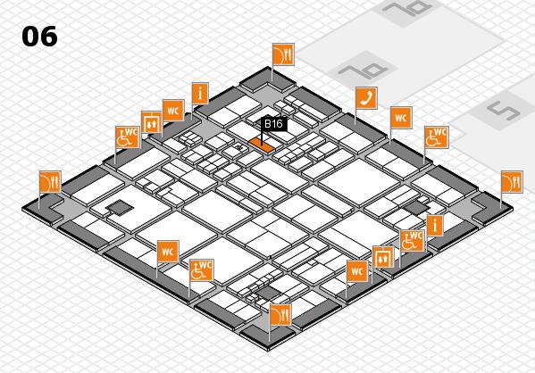 drupa 2016 hall map (Hall 6): stand B16