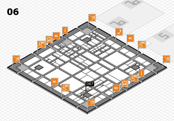 drupa 2016 hall map (Hall 6): stand D67