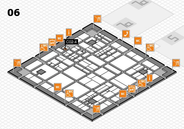 drupa 2016 hall map (Hall 6): stand C02-4