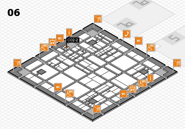 drupa 2016 hall map (Hall 6): stand C02-2