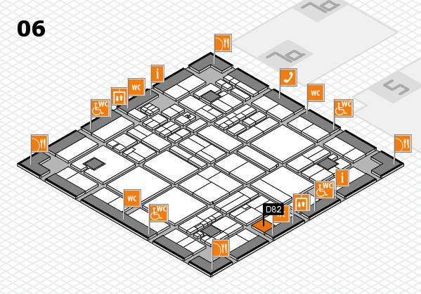 drupa 2016 hall map (Hall 6): stand D82