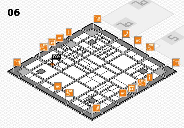drupa 2016 hall map (Hall 6): stand D08