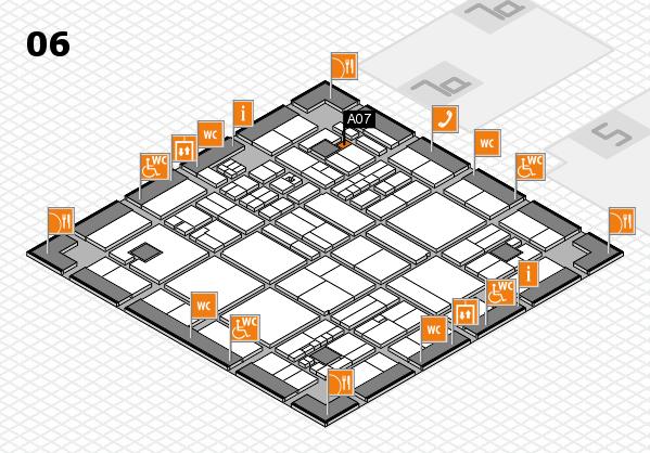 drupa 2016 hall map (Hall 6): stand A07
