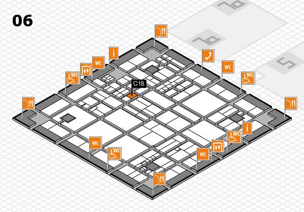 drupa 2016 hall map (Hall 6): stand C18
