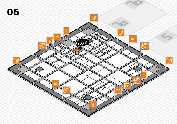 drupa 2016 hall map (Hall 6): stand B09
