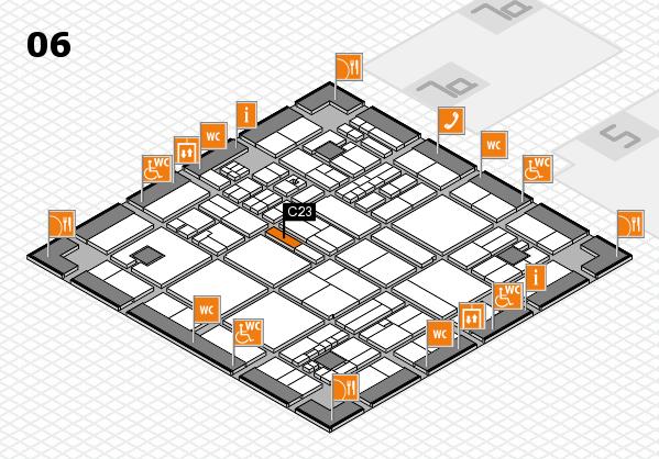 drupa 2016 hall map (Hall 6): stand C23