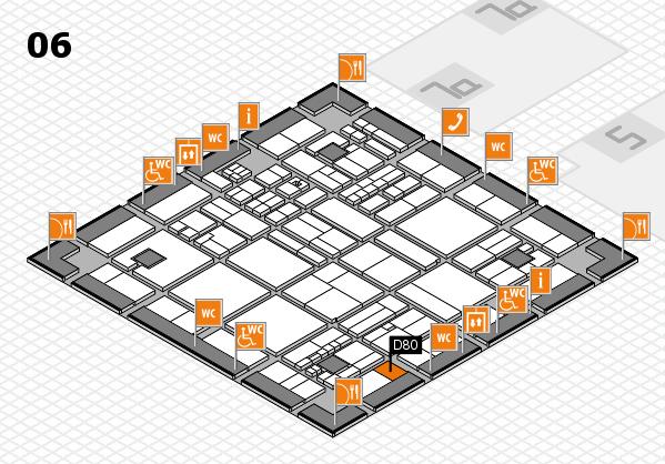 drupa 2016 hall map (Hall 6): stand D80