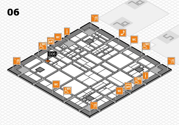 drupa 2016 hall map (Hall 6): stand D06