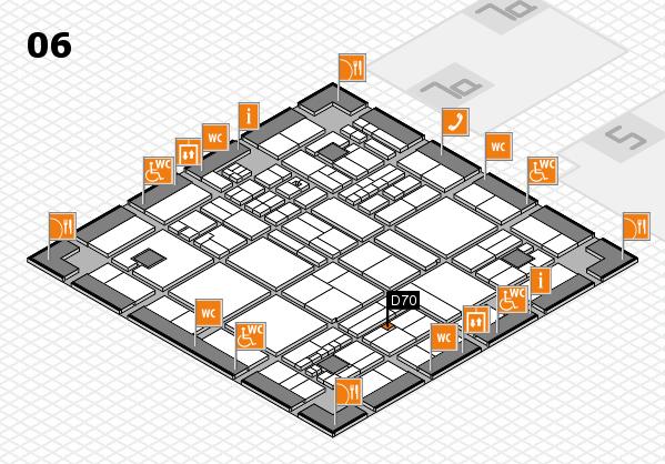 drupa 2016 hall map (Hall 6): stand D70