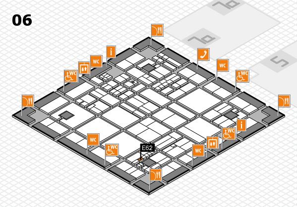 drupa 2016 hall map (Hall 6): stand E62