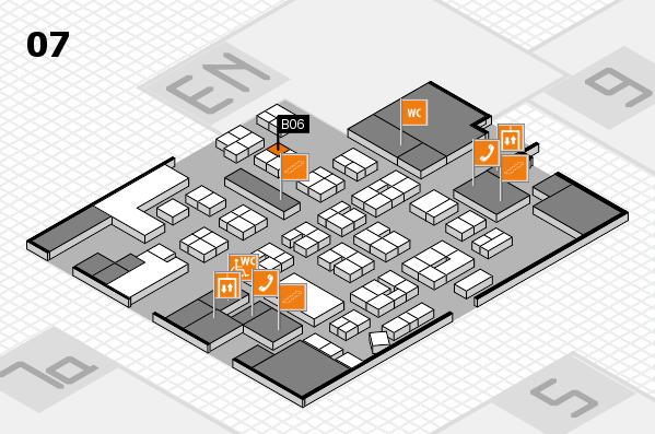 drupa 2016 hall map (Hall 7): stand B06