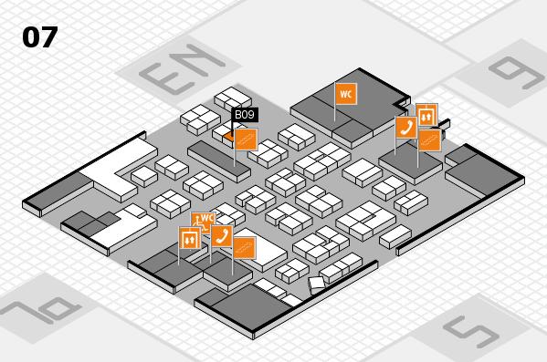 drupa 2016 hall map (Hall 7): stand B09