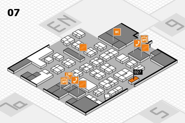 drupa 2016 hall map (Hall 7): stand B27