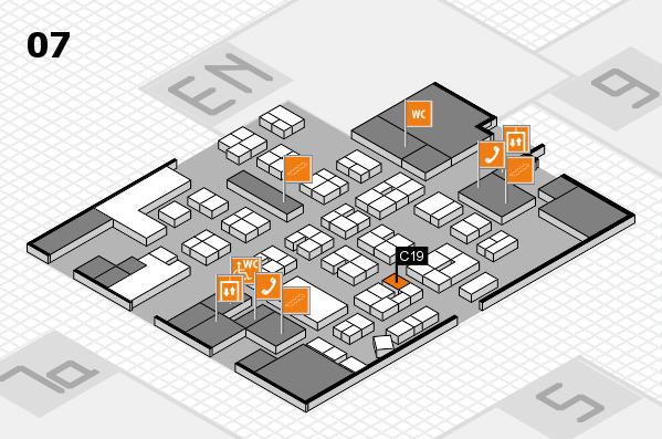 drupa 2016 hall map (Hall 7): stand C19