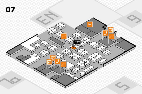 drupa 2016 hall map (Hall 7): stand C12