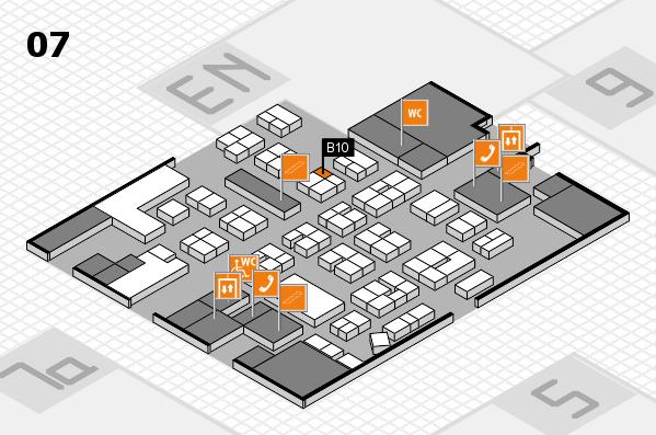drupa 2016 hall map (Hall 7): stand B10