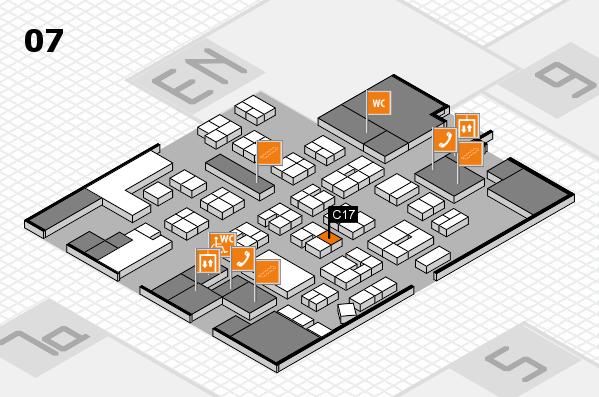 drupa 2016 hall map (Hall 7): stand C17
