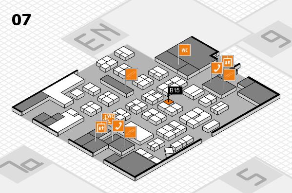 drupa 2016 hall map (Hall 7): stand B15