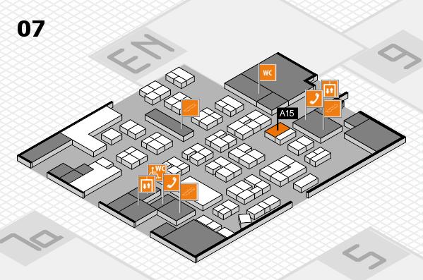 drupa 2016 hall map (Hall 7): stand A15