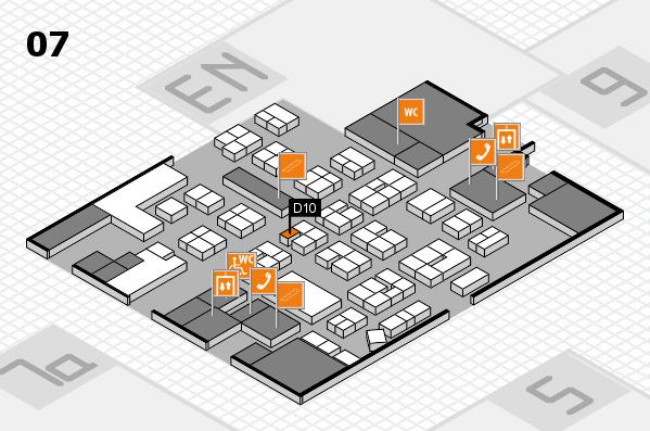 drupa 2016 hall map (Hall 7): stand D10