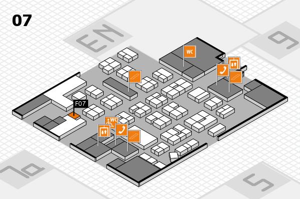 drupa 2016 hall map (Hall 7): stand F07