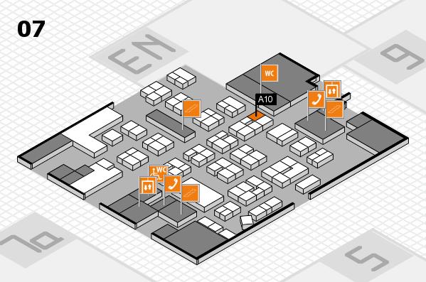 drupa 2016 hall map (Hall 7): stand A10